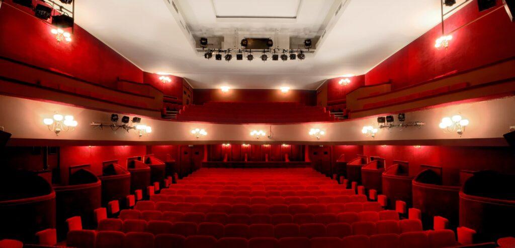 Salle vue de la scène