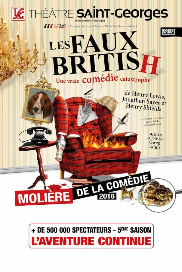 Affiche : Les Faux British