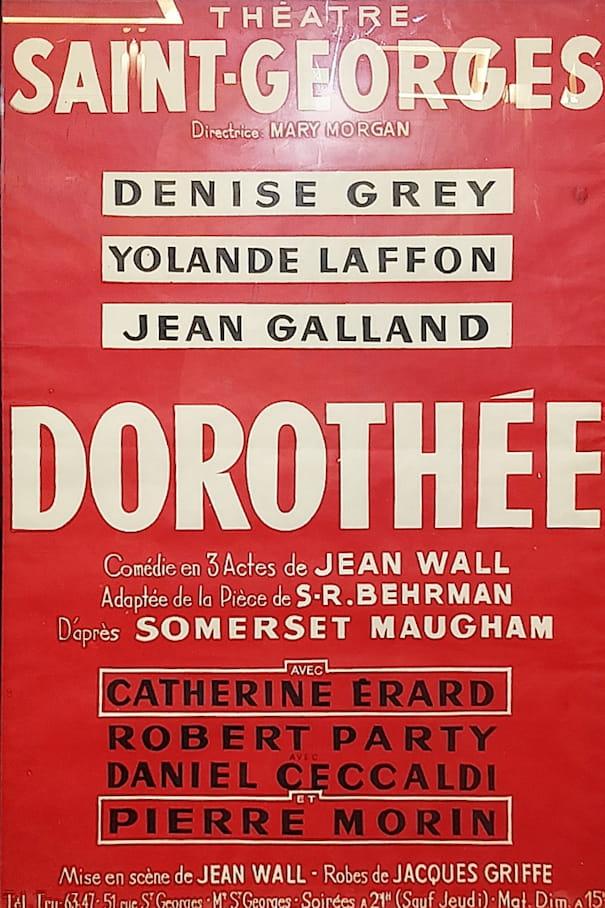 """Affiche de la pièce """"Dorothée"""""""