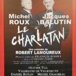 """Affiche de la pièce """"Le Charlatan"""""""