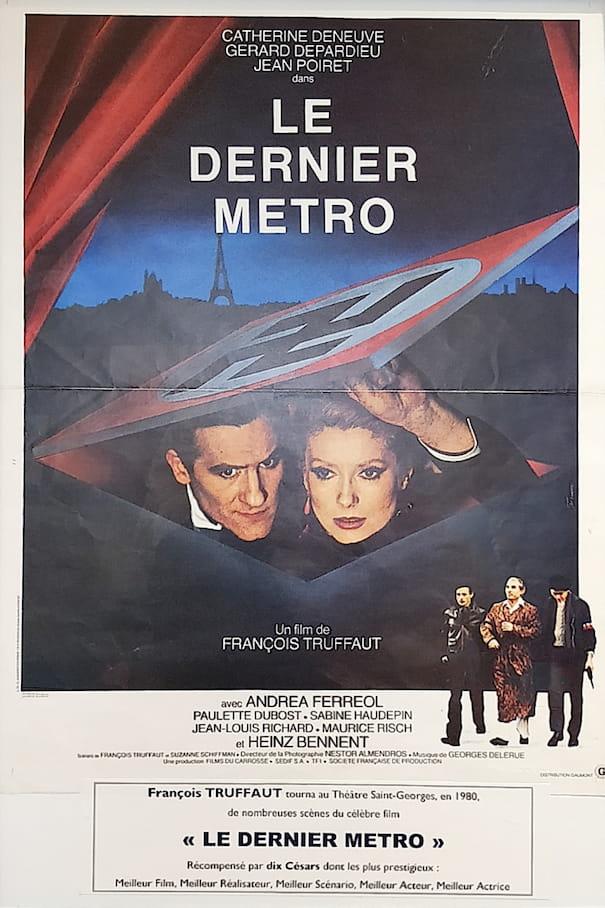 """Affiche du film """"Le Dernier Métro"""""""