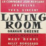 """Affiche de la pièce """"Living room"""""""